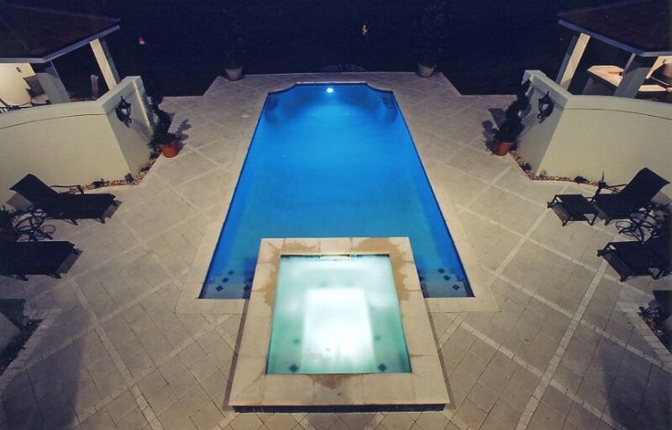 17 best ideas about above ground fiberglass pools on - Above ground swimming pools houston ...