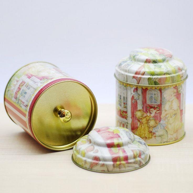 Metal çay kutusu - 7