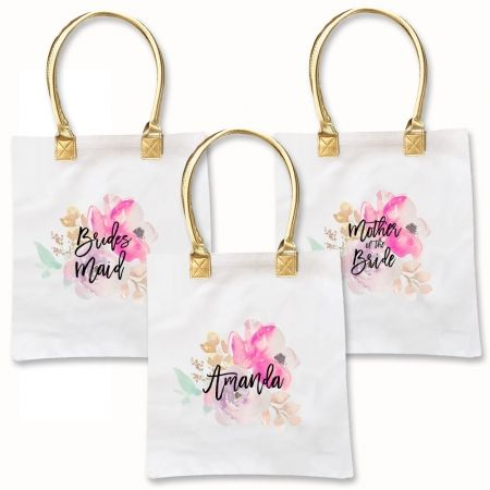 Personalized Bridesmaid Tote Bags Unique Gifts