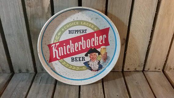 Knickerbocker Beer Sign Knickerbocker Beer Plate Vintage