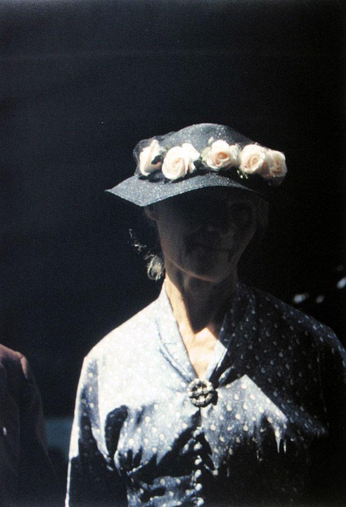 © Saul Leiter Quand le noir devient pouvoir de mise en scène ...