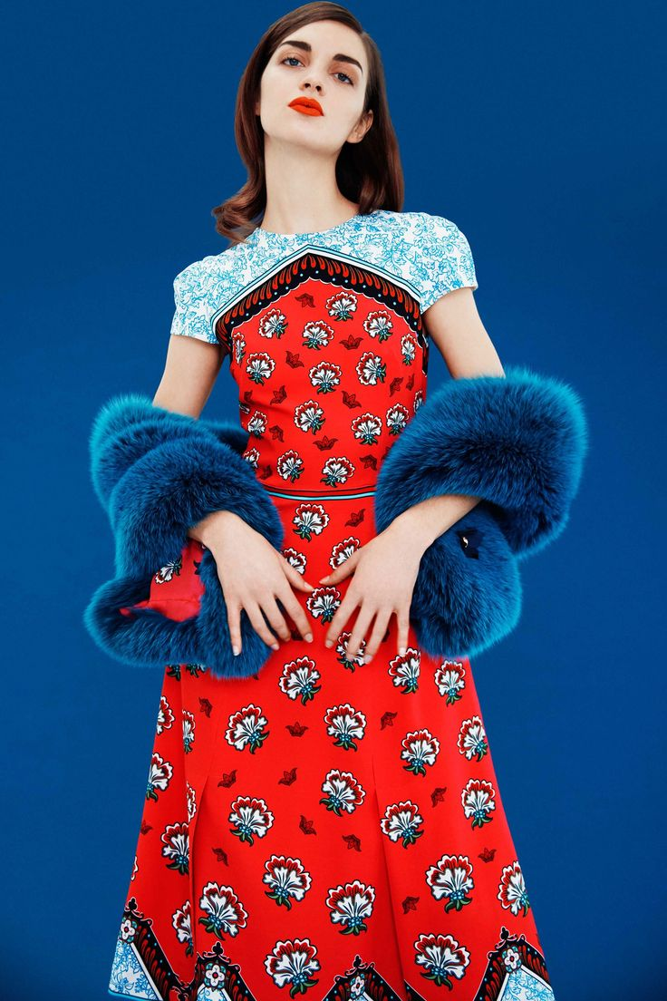Mary Katrantzou Pre-Fall 2017 Collection Photos - Vogue