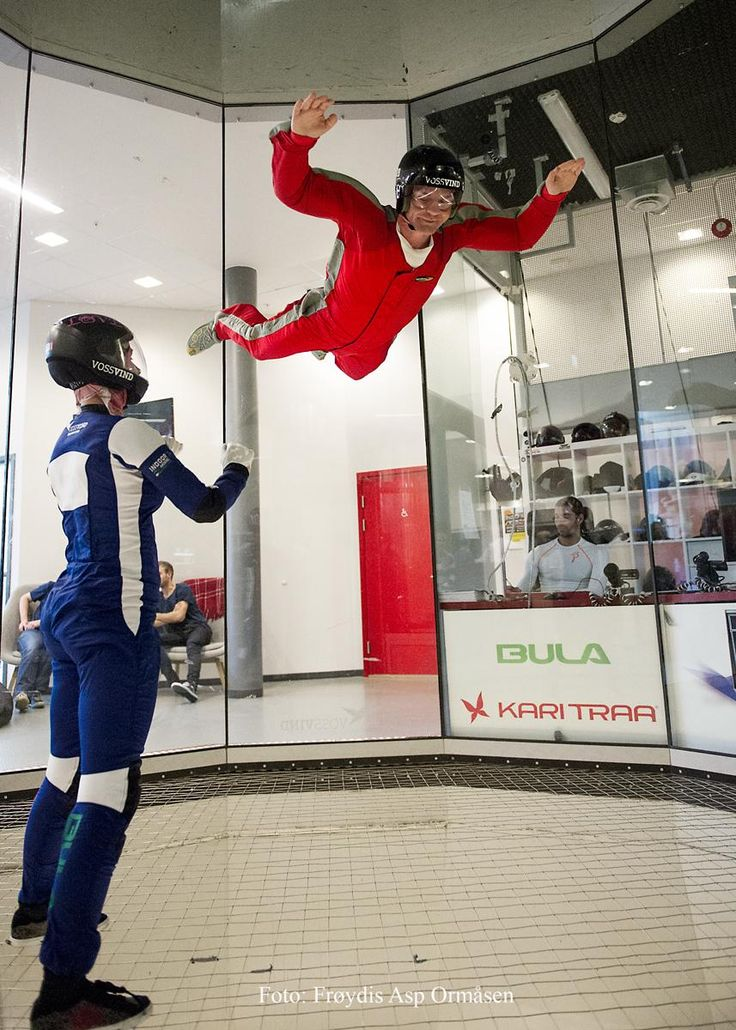 VossVind Drift (indoor skydiving) - Voss Municipality, Norway