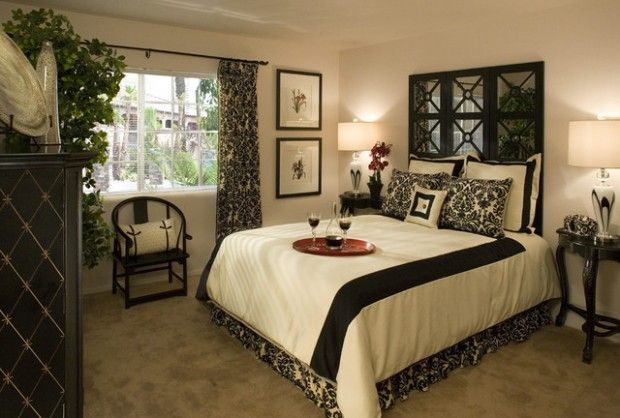 Black And White Bedroom Decorating Ideas Stunning Decorating Design