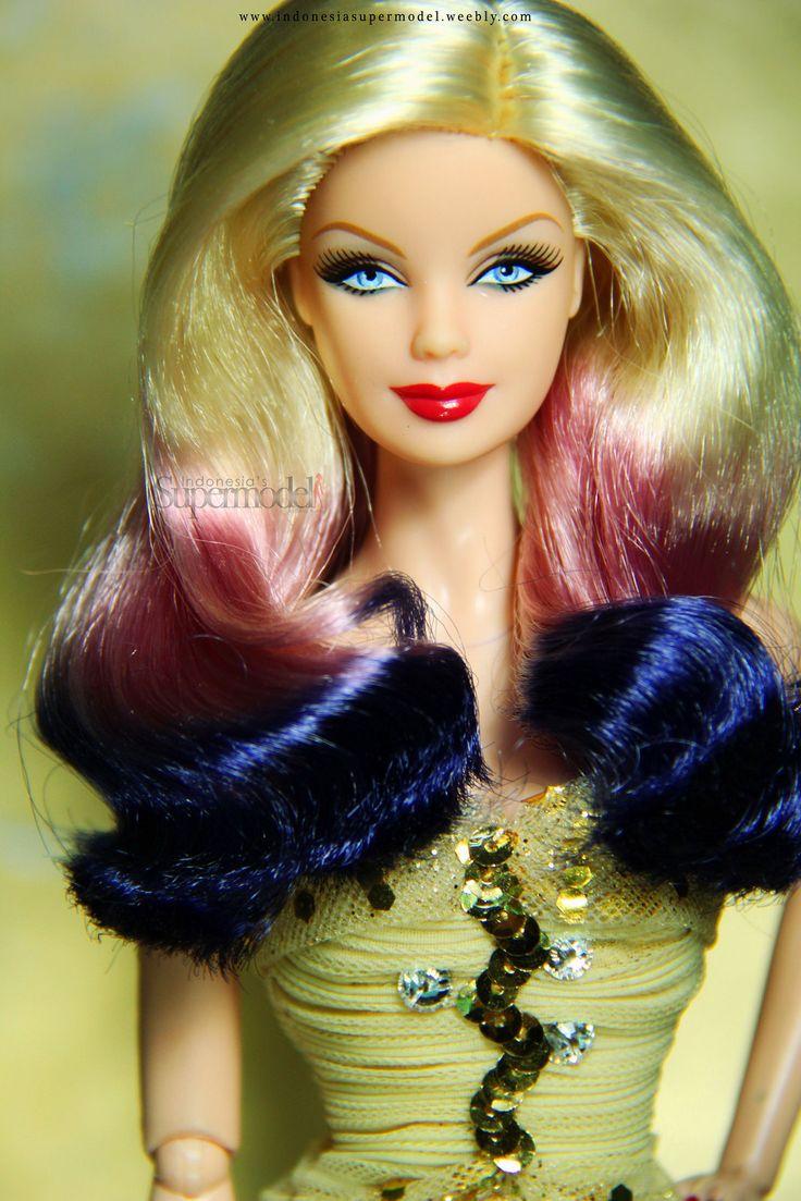 ombre hair barbie barbie soo beautiful pinterest