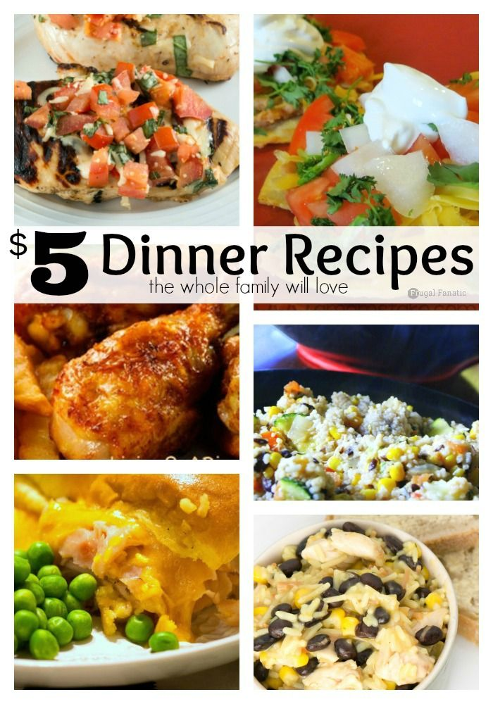 5 dinner recipes for your whole family the o 39 jays Easy dinner recipes for family of 6