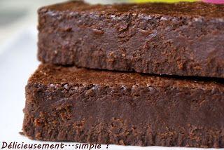 Délicieusement... simple !: Fondant au chocolat noir ou blanc au lait concentrès sucré