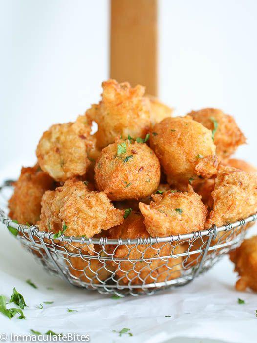 Jamaican Salt fish fritters recipe!