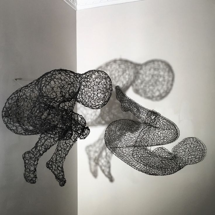 Wire art by Conny Van Lint