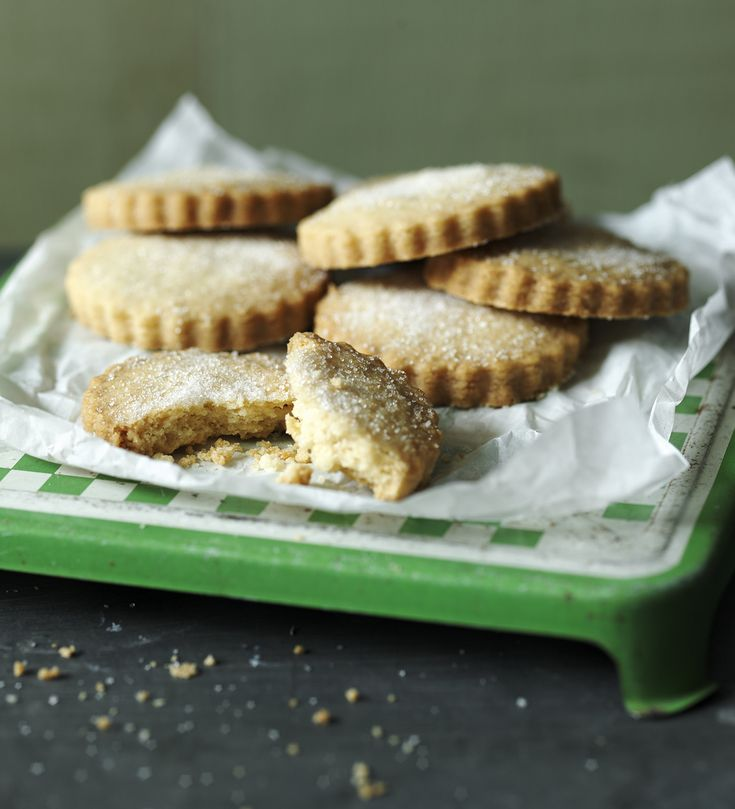 Shortbread is probably the easiest biscuit to make and fills the kitchen with a wonderful buttery freshly-baked smell