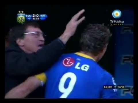 Boca vs. River Gol de Cabeza: Palermo Ultimo Super Clasico