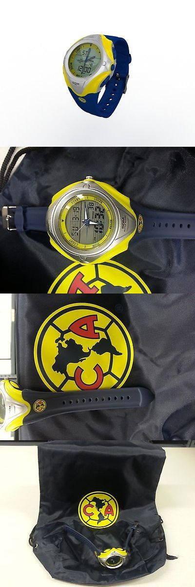Soccer-Other 2885: Club America Watch With Sport Bag -> BUY IT NOW ONLY: $37.5 on eBay!