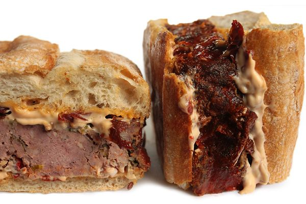 ... for Hot Weather~Spicy Meatloaf Sandwich- mmm-hmm, that's darned good