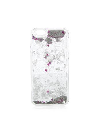 New Look Silver Glitter Star iPhone 6 Case #accessories #women #covetme