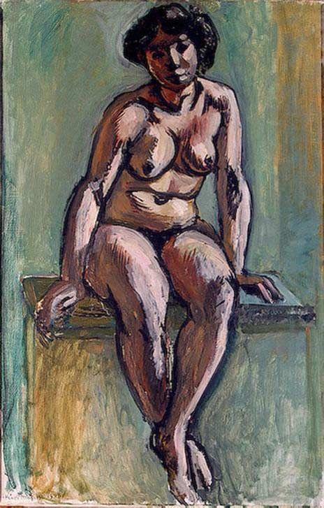 Henri Matisse, Seated Nude