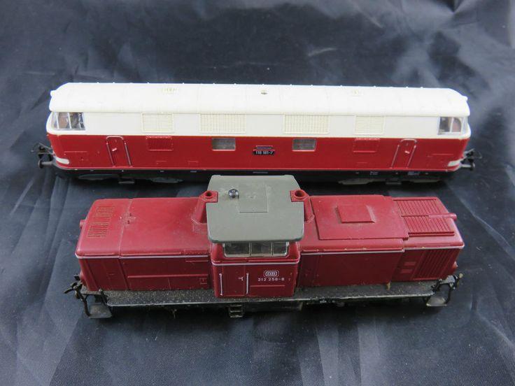 Piko H0 Gützold Diesellok BR 118 187-7 und Fleischmann Spur H0 4230 212 258-8