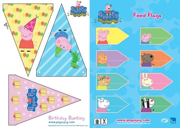 Festa Peppa Pig para imprimir (grátis!) http://www.mildicasdemae.com.br/2014/03/festa-peppa-pig-para-imprimir-gratis.html