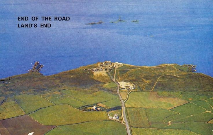 ICYMI: #retweet #postcards Postcard 1973 End of the Road LAND'S END Cornwall #RT 50% OFF when you Buy 3+