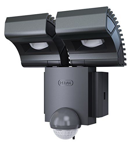 From 79.98 Osram Noxlite Spot Led Outdoor Wall Luminaire With Motion Detector And Dusk Sensor Day Light 18 W 6000 K