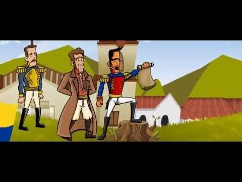 Historia Independencia de Colombia - YouTube