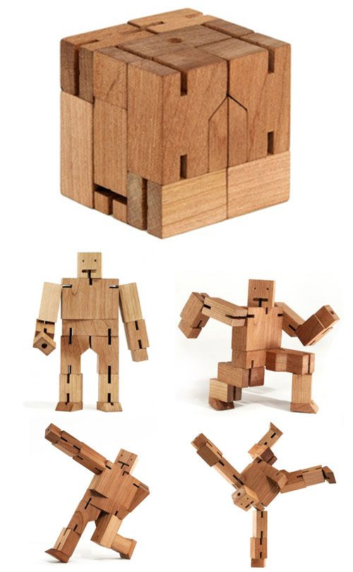 Look what I found @locolegend! Wooden Robot Man! I bought this for my son. I have been getting the most enjoyment out of it! My 6 year old told me i was crazy lol