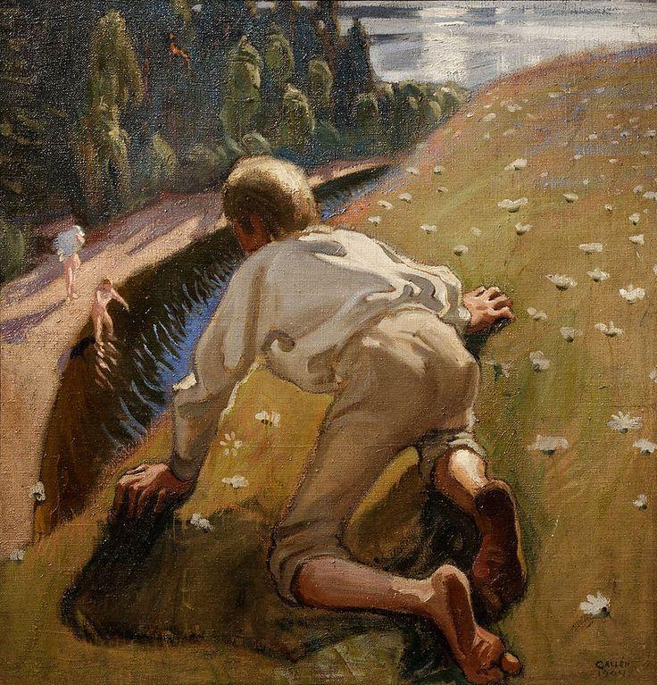 Young Faun   Akseli Gallen-Kallela  Jeune faune, 1904.