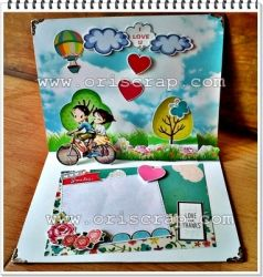 popup card valentine  large