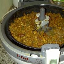 chili-  Recipes » T-fal ActiFry --made it but didnt add all the tomato because it didnt all fit but still tasted yummie.