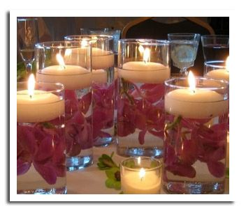 ideas for wedding candle you can make yourself cheap elegant candle and floating candle centerpiece ideas and photos