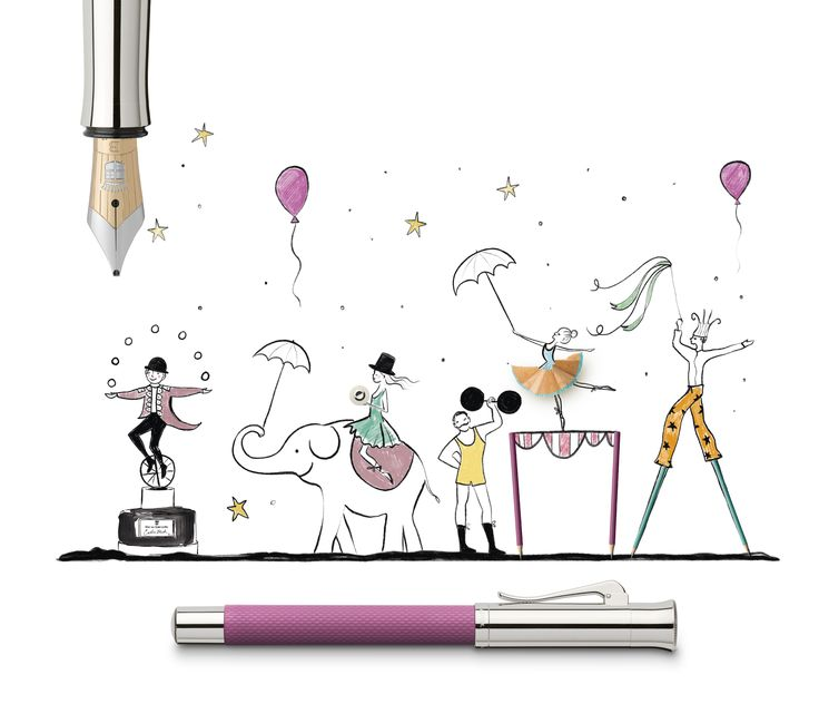 Bright green, fiery orange, royal blue: Colours with a wow effect are making a fashion comeback this season on runways from New York to Paris. From head to toe or just in splashes – vibrant colours are everywhere. #fountainpen #pink #orange #grafvonfabercastell #keratill