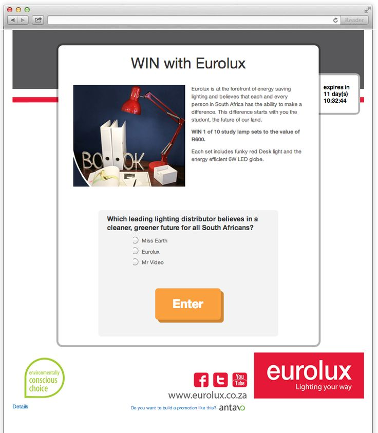 #Eurolux #Competition #Hamper #Giveaway #Studying #Question