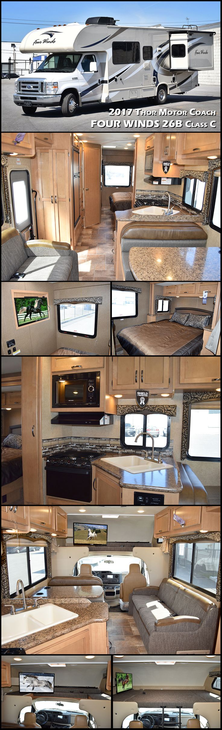 2017 Thor Motor Coach Four Winds 26B Class C Motorhome