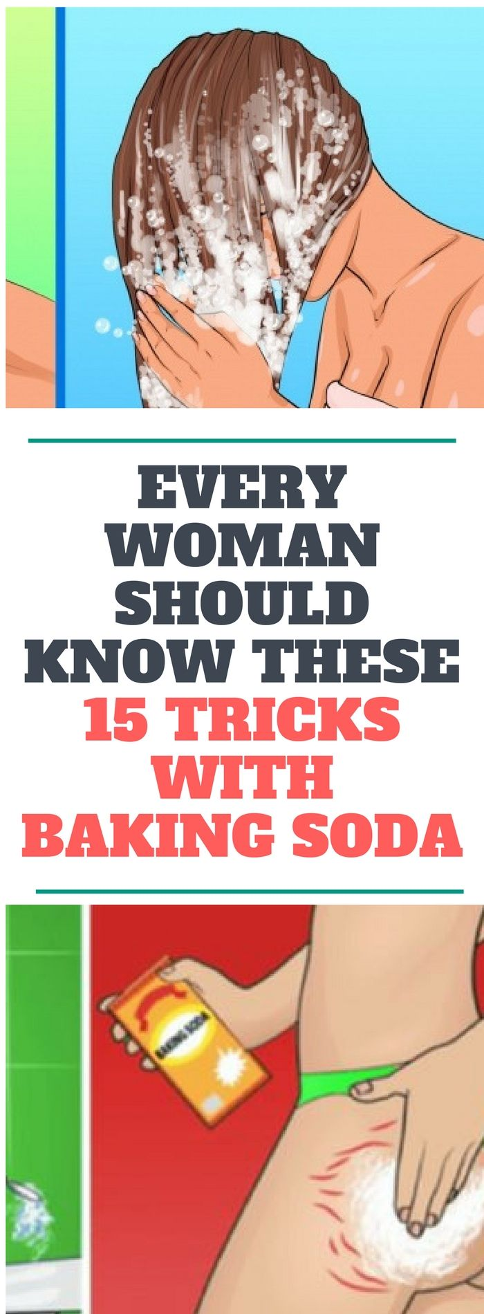 Every Woman Should Know These 15 Tricks With Baking Soda..!! Reed thiss!!!