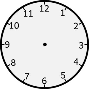 Clip Art Clock Without Hands   Clock Without Arms clip art ...