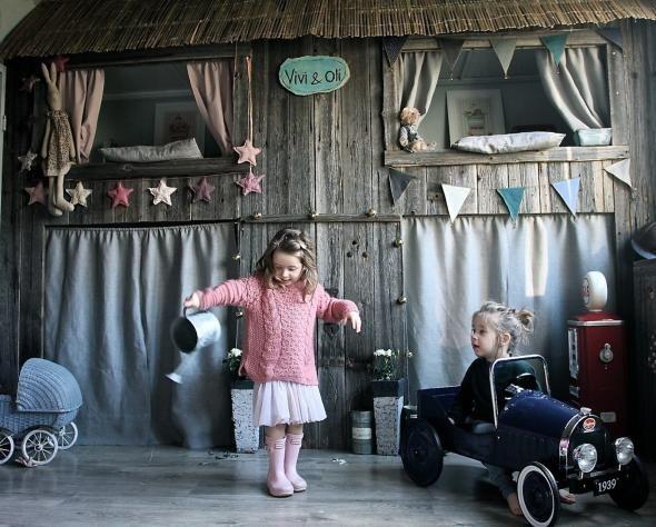 Ένα παραμυθένιο παιδικό δωμάτιο