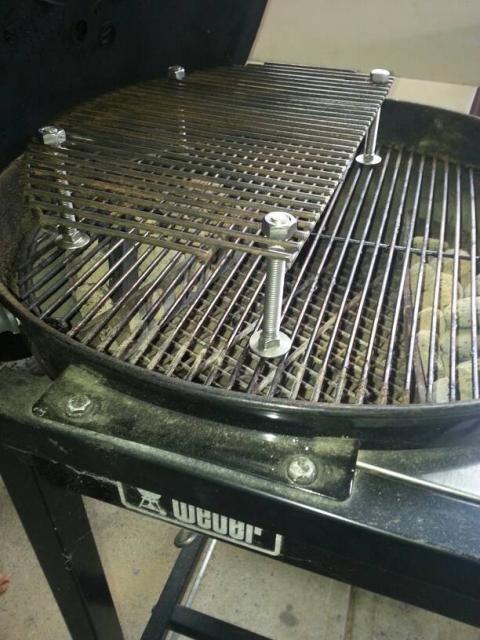 Bought a Weber Kettle to Vs. my Kamado Joe - The BBQ BRETHREN FORUMS.