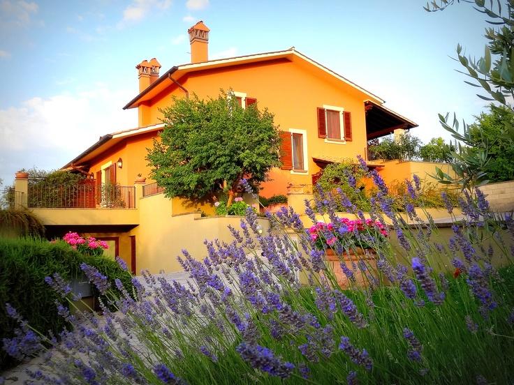Villa Gualtieri in the sun...