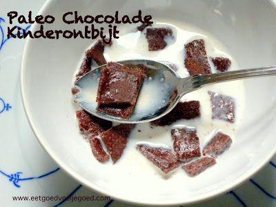 Eet goed, Voel je goed: Chocolade Paleo Kinderontbijt