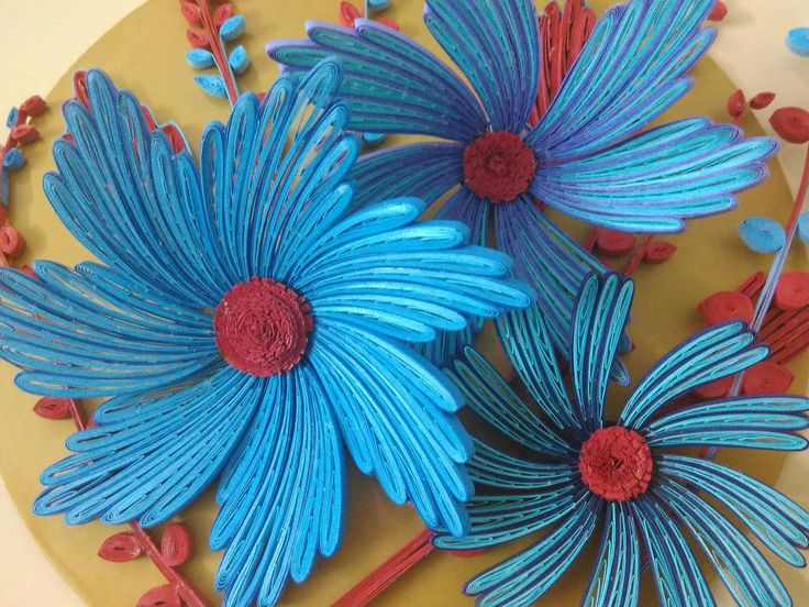 Quilled flowers                                                       …