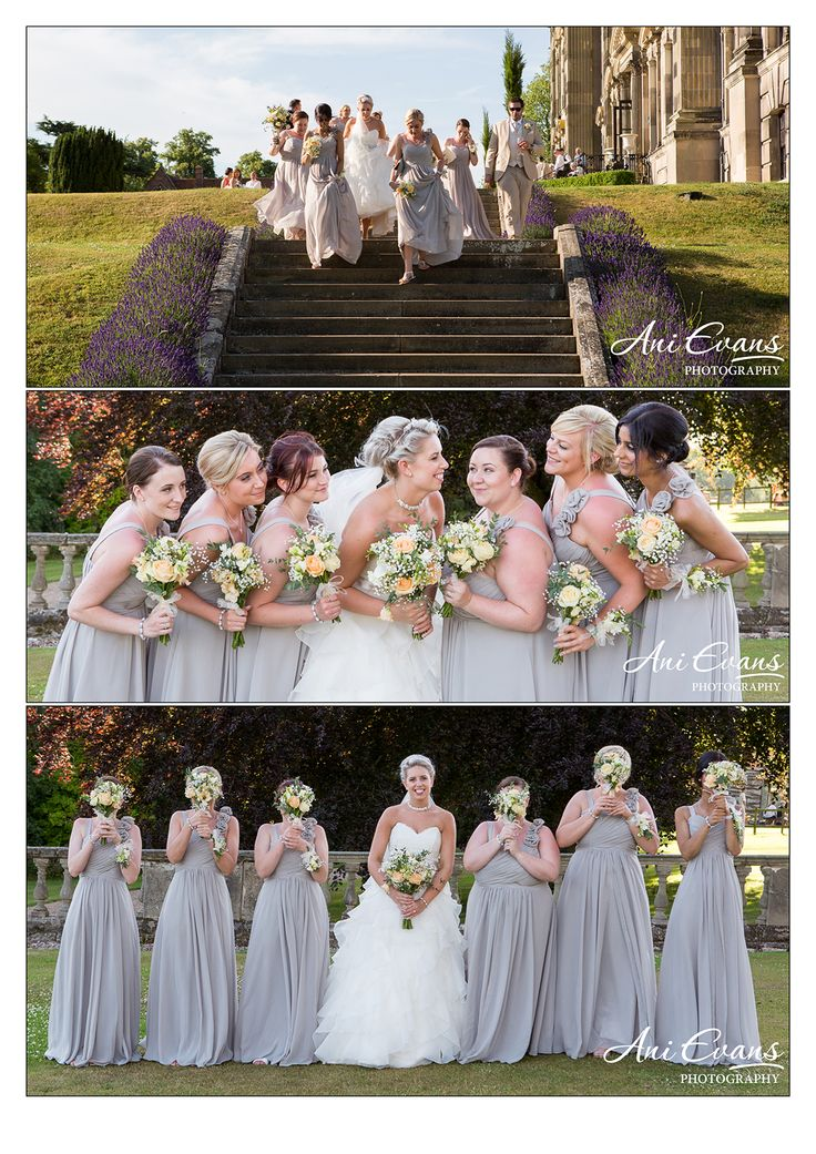 budget wedding photography west midlands%0A Stoneleigh Abbey Wedding Photography bridesmaids