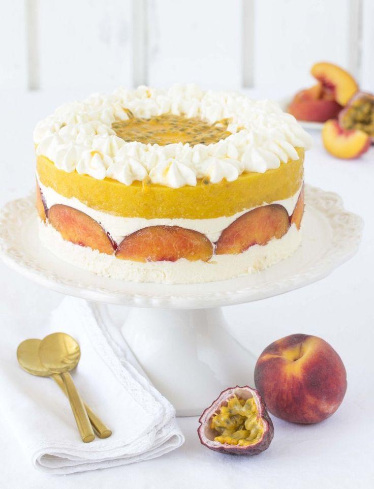 Festliche maracuja torte