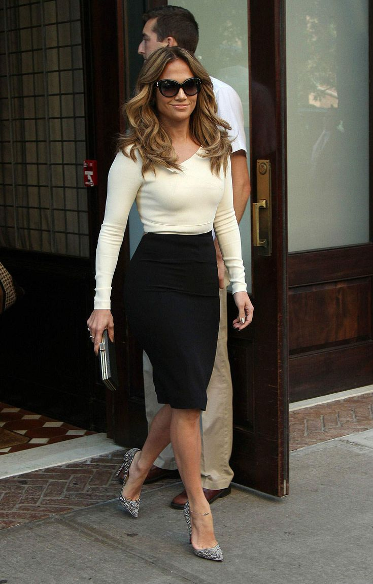 Pencil Skirt Outfit Ideas Tumblr Hourglass Body Shape