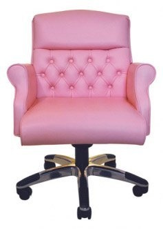 The Pink Chair Stiletto - would love to have that in my office!: Pink Office Ideas, Pink Offices, Pink Desk, Office Design, Pink Chairs, Office Chairs, Desk Chairs, Pink Office Chair