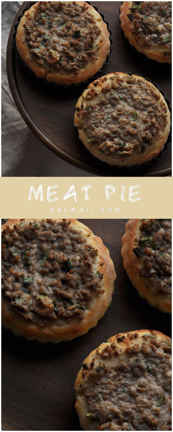 عيش باللحم Meat Pie Food Arabic Food Meat Pie
