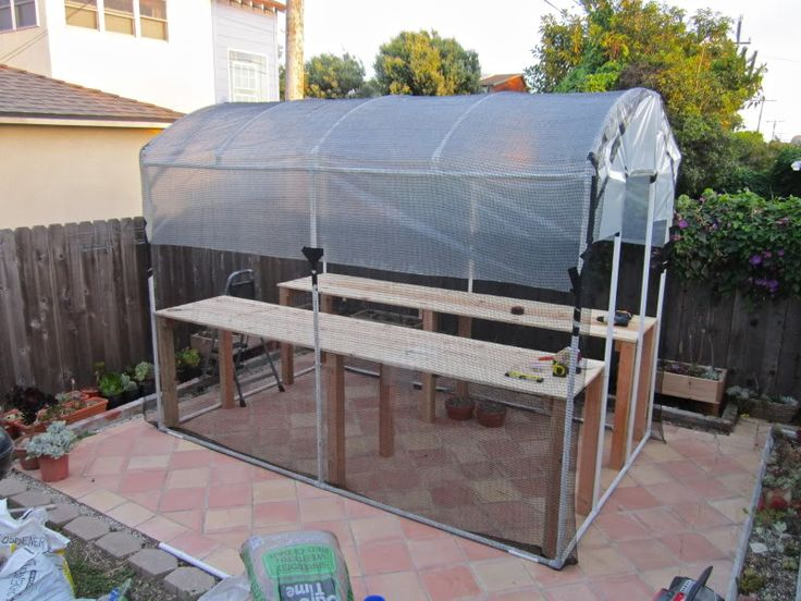 PVC greenhouse: Greenhouses Growing Techniques, Greenhouses Stuff, Pvc Greenhouses, Greenhouses Ideas