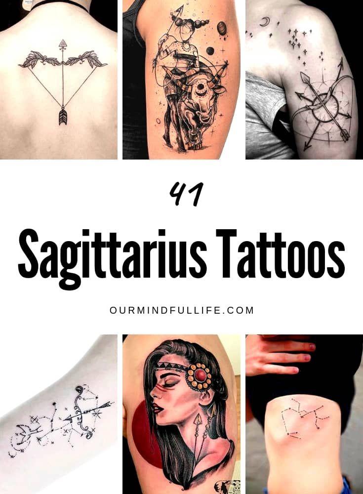 Best Zodiac Tattoo Ideas For Each Sign Ourmindfullife Com Sagittarius Sagittarius Tattoo Sagittarius Tattoo Designs Aquarius Tattoo
