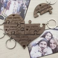 Personalised Keyrings - Treat Gifts