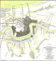 New Orleans, in Louisiana, was the largest city in the Southern states during the American Civil War. It provided thousands of troops for the Confederate States Army, as well as several leading officers and generals. Its location near the mouth of the Mississippi River made the city an important and early target of the Union Army, which occupied the city for much of the war, interrupting its vital status as a port for export of cotton and other Southern-produced trade goods.