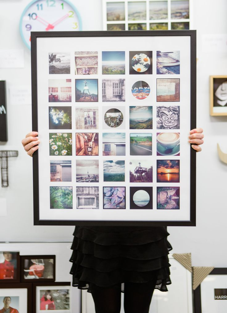 Phone choker block with photos? Walls looking a bit bland? We have the solution, Instagram tile frame!   http://themirrorbox.bigcartel.com/product/framed-instagram-print    http://themirrorbox.bigcartel.com/product/framed-instagram-print