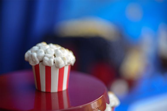 Popcorn cupcakes in Decoration stuff for cupcakes and muffins